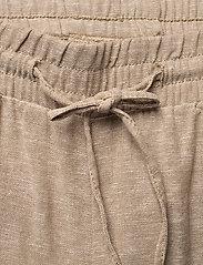 FREE/QUENT - FQLAVA-ANKLE-PA - bukser med brede ben - sand melange - 2