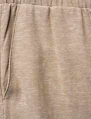 FREE/QUENT - FQLAVA-ANKLE-PA - bukser med brede ben - sand melange - 3