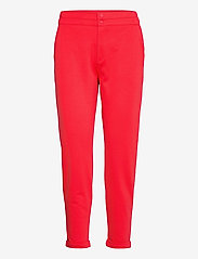 FREE/QUENT - FQNANNI-ANKLE-PA - broeken med straight ben - poppy red - 0