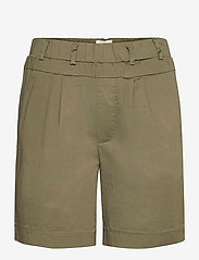 FREE/QUENT - HEGEN-SHO-SAND - chino shorts - dusty olive - 0