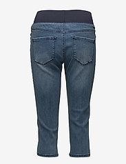 FREE/QUENT - SHANTAL-CA-DENIM - pantalons capri - medium blue denim - 1