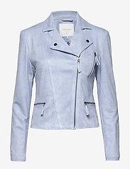 FREE/QUENT - BIRDIE-JA - skinnjakker - chambray blue 15-4030 tcx - 0