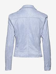 FREE/QUENT - BIRDIE-JA - skinnjakker - chambray blue 15-4030 tcx - 2