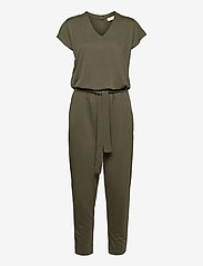 FREE/QUENT - YR-JU - jumpsuits - dusty olive - 0