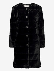 FREE/QUENT - FQFURBY-L-JA-BUTTON - faux fur - black - 0