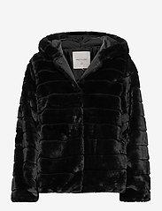 FREE/QUENT - FQFURBY-JA-HOOD - faux fur - black - 0