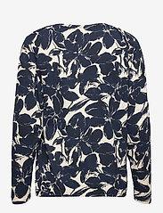 FREE/QUENT - FQBETINA-LS-TUA - tops met lange mouwen - navy blazer mix - 1