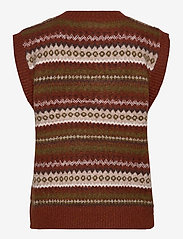 FREE/QUENT - FQBERSA-WA - knitted vests - arabian spice mix - 1