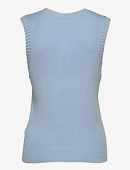 FREE/QUENT - FQLOVELY-WA - knitted vests - chambray blue - 1