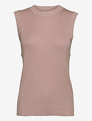 FREE/QUENT - FQLOVELY-WA - knitted vests - pale mauve - 0