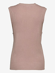 FREE/QUENT - FQLOVELY-WA - knitted vests - pale mauve - 1