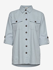 FREE/QUENT - FQLAVA-SH - langærmede skjorter - chambray blue - 2