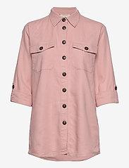 FREE/QUENT - FQLAVA-SH - langærmede skjorter - silver pink - 2