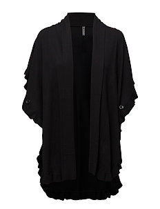 CLAUDISSE-CAPE-CAR-SP17 - BLACK