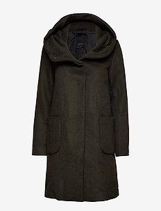 DICTE-JA - wool coats - olive night as macia-ja