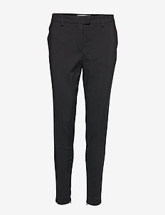 ISABELLA-ANKLE-PA - pantalons slim fit - black