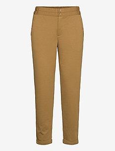 NANNI-ANKLE-PA - rette bukser - butternut 18-0830 tcx