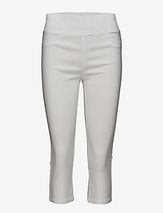 SHANTAL-CA-POWER - leggings - bright white 11-0601