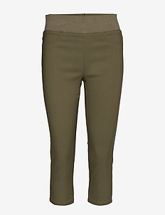 SHANTAL-CA-POWER - leggings - burnt olive 18-0521 tcx