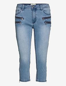 AIDA-CA-DENIM - jeans slim - light blue denim