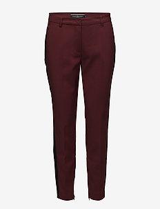 ISABELLA-ANKLE-PA-PANEL - spodnie rurki - rhône/black