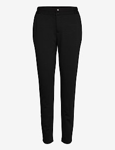 NANNI-PA - slim fit bukser - black