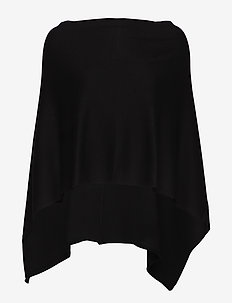 FQCLAUDISSE-S-CAPE - poncza & peleryny - black