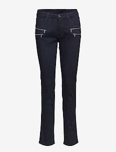 AIDA-JE-RELAXED - dżinsy skinny fit - black