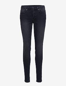 AMBER-JE - dżinsy skinny fit - black