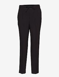 LIZY-PA - spodnie proste - black