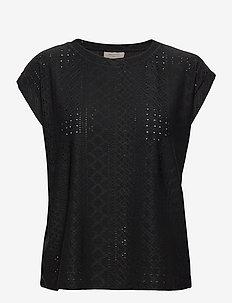 FQBLOND-TEE - t-shirts - black