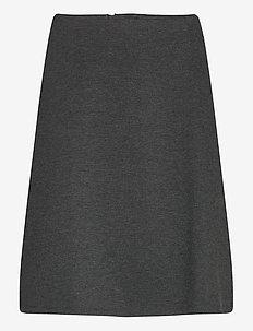BILLY-SK - midi skjørt - dark grey melange