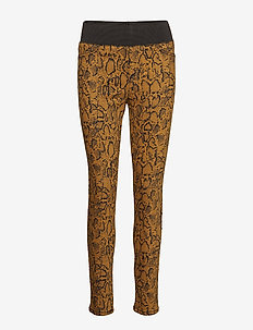 SHANTAL-ANKLE-PA-SNAKE - leggings - cathay spice mix