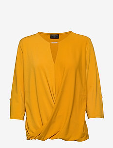 ELLA-3/4-SLEEVE - GOLDEN YELLOW 15-0953