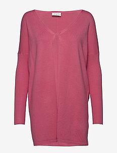 FQJONE-CAR - cardigans - pink lemonade 16-1735 tcx
