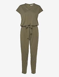 YR-JU - jumpsuits - burnt olive 18-0521 tcx