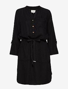 CUBI-DR - skjortekjoler - black