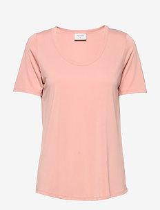 HONEY-U-SS - basic t-shirts - misty rose 15-1512 tcx
