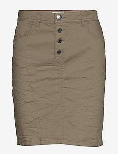 CHARLIE-SK-TRIX - ołówkowe spódnice - beige sand as cut