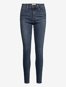 FQHARLOW-JE-MEDIUM BLUE - slim jeans - medium blue