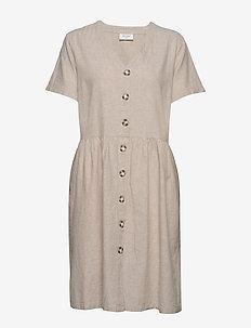 FQALVILLE-DR - krótkie sukienki - sand