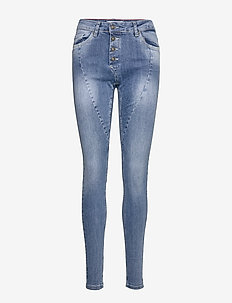 CHARLIE-JE-WAU-MEDIUM BLUE - skinny jeans - medium blue