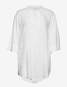 NINA-SH - long-sleeved shirts - off white 11-4800