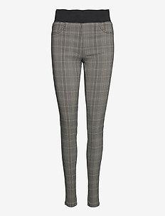 FQSHANTAL-PA-CHUCK - broeken med skinny fit - lulu check mix