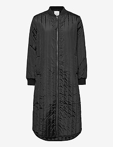 FQSISSEL-L-JA - padded coats - black
