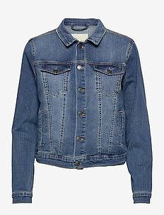 FQROCK-JA - spijkerjassen - vintage blue denim