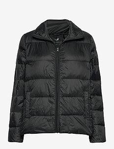 FQTOPS-S-JA-ASHAPE - dun- & vadderade jackor - black