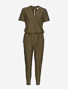 FQSTARKI-SS-JU - jumpsuits - burnt olive