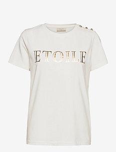 FQETOILE-TEE - t-shirts - offwhite 11-4800 mix
