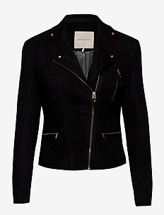 FQBIRDIE-JA-LUX - leather jackets - black